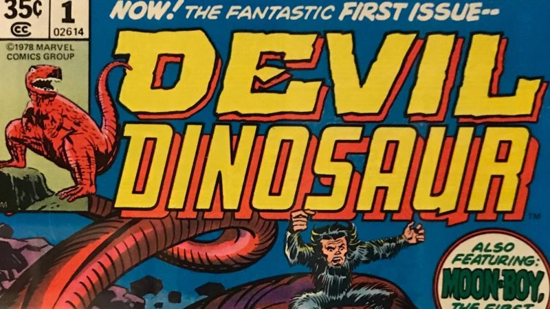 Marvel Devil Dinosar Issue 1