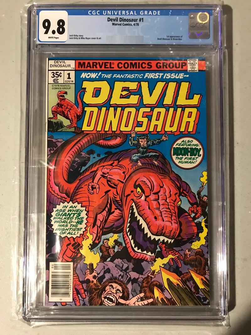 Marvel Devil Dinosar Issue 1 CGC