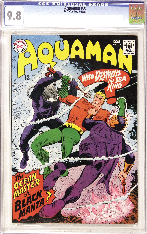 Aquaman 35 CGC 9.8