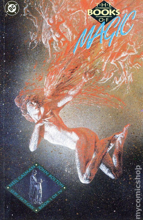 DC Comics The Books Of Magic Prestige-Format Issue 1