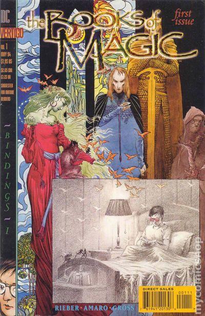 DC Comics The Books Of Magic Series Issue 1