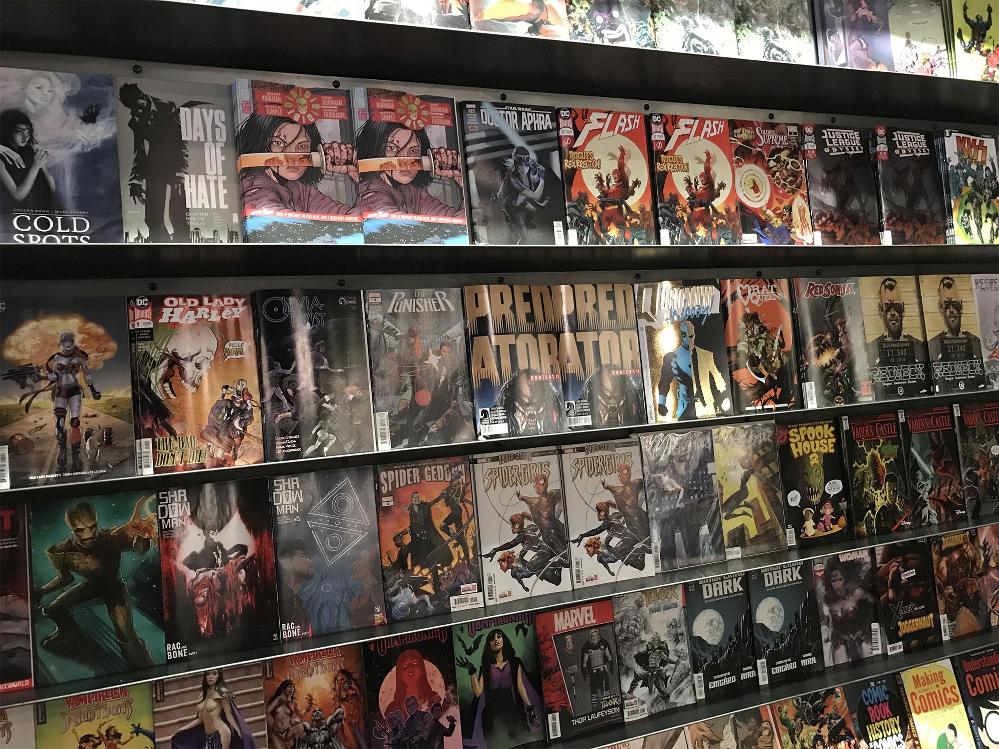 Comic Book Wednesday Wall