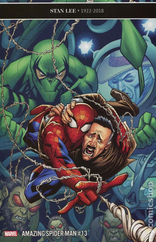 The Long Boxers - Amazing Spider-Man 13
