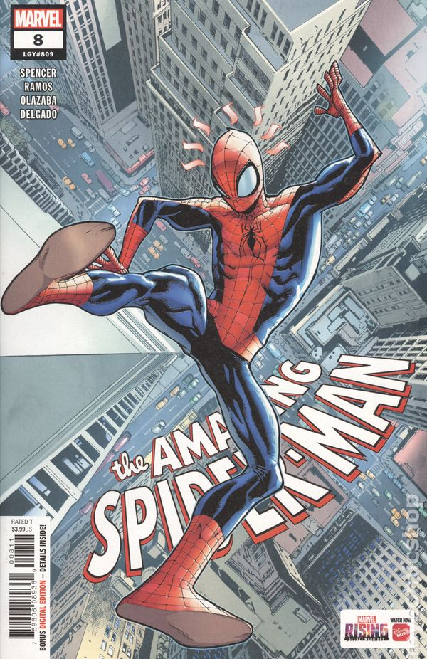 The Long Boxers - Amazing Spider-Man 8