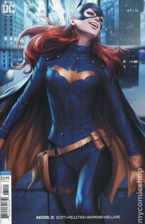 The Long Boxers - Batgirl #31 Cover B Artgerm Variant