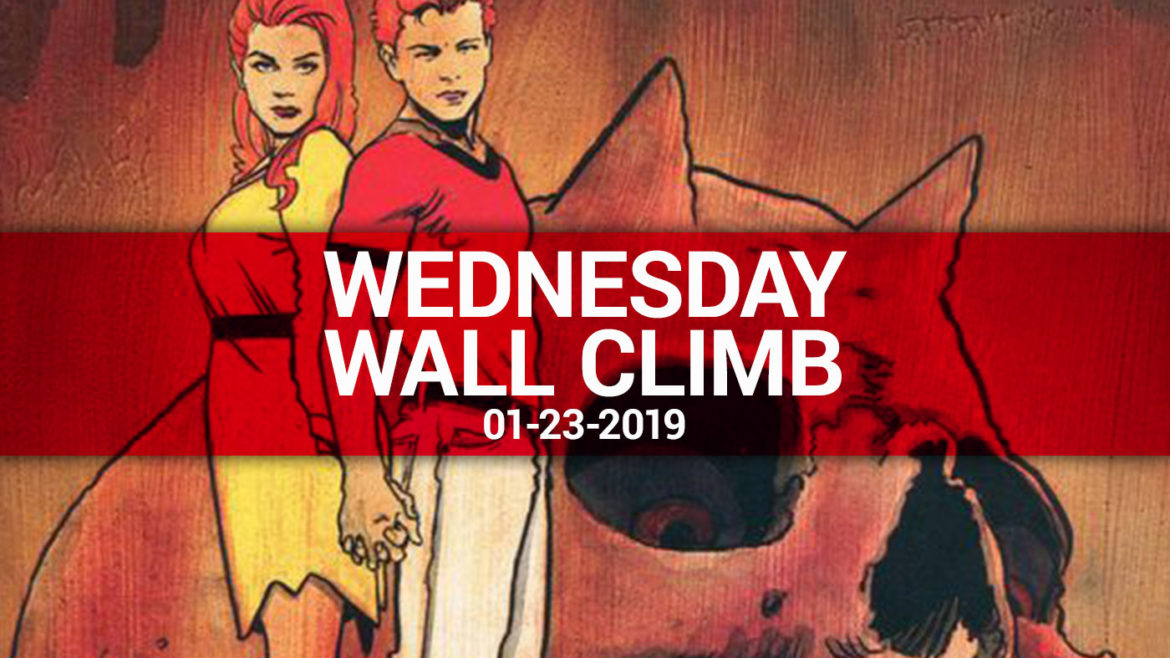 The Long Boxers - Wednesday Wall Climb Hero - 2019-1-23
