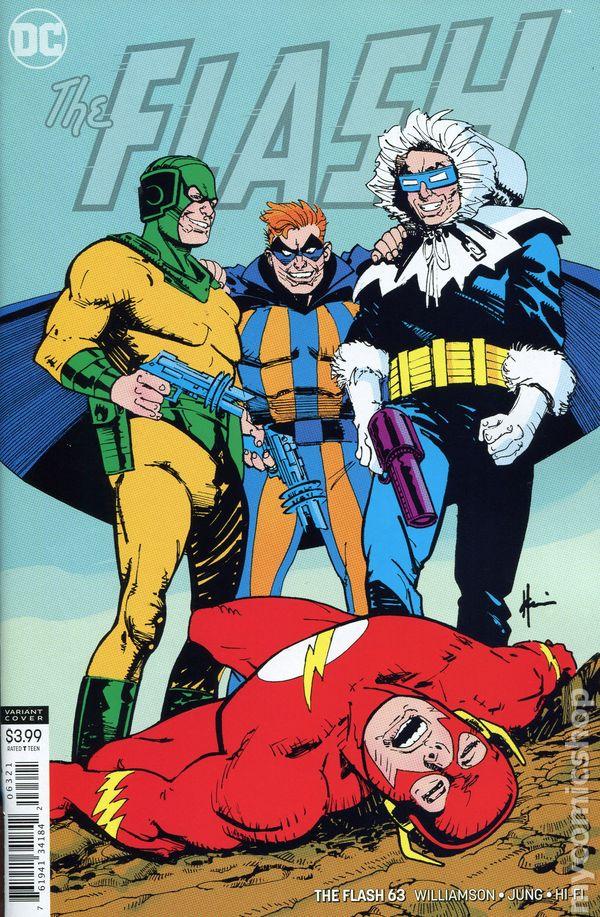 The Long Boxers - Flash #63 Cover B Howard Chaykin Variant