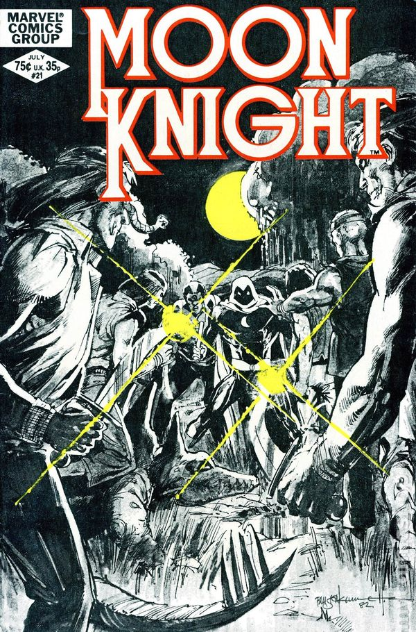 The Long Boxers - Moon Knight 21