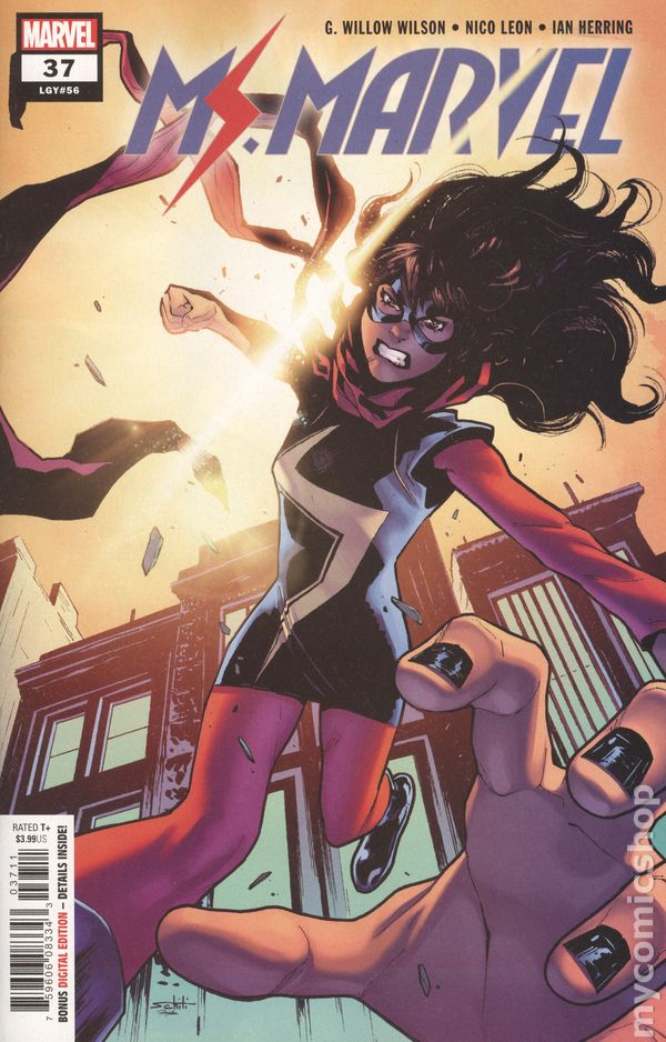 The Long Boxers - Ms Marvel #37