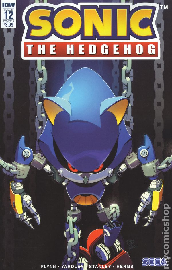 The Long Boxers - Sonic the Hedgehog 12