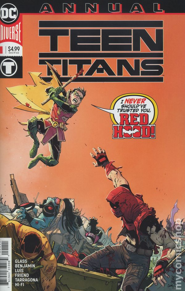 The Long Boxers - Teen Titans Vol 6 Annual 1