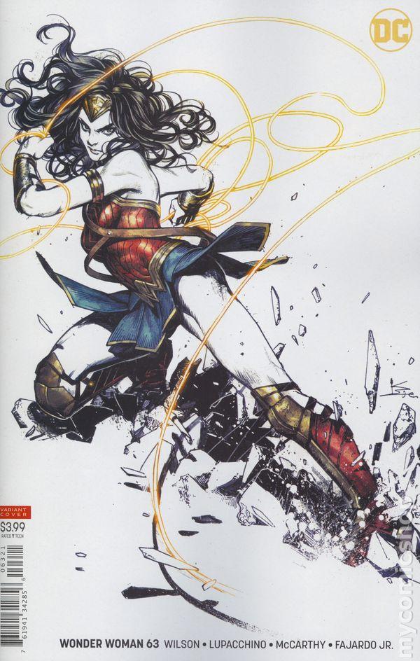 The Long Boxers - Wonder Woman #63 Cover B Kamome Shirahama Variant