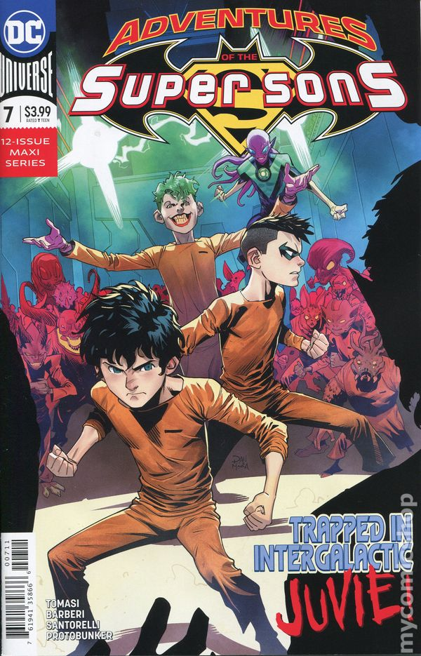 The Long Boxers - Adventures Of The Super Sons 7