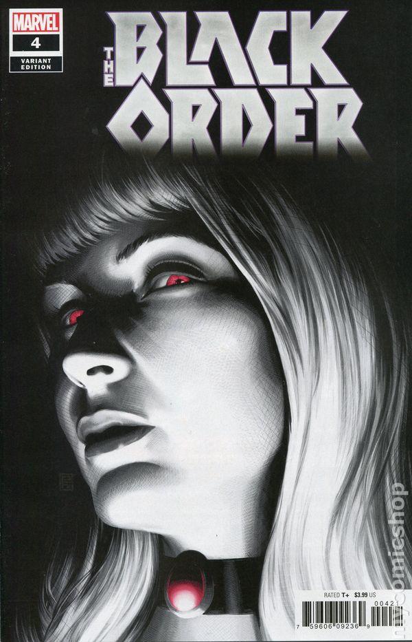 The Long Boxers - Black Order #4 John Tyler Christopher Cover