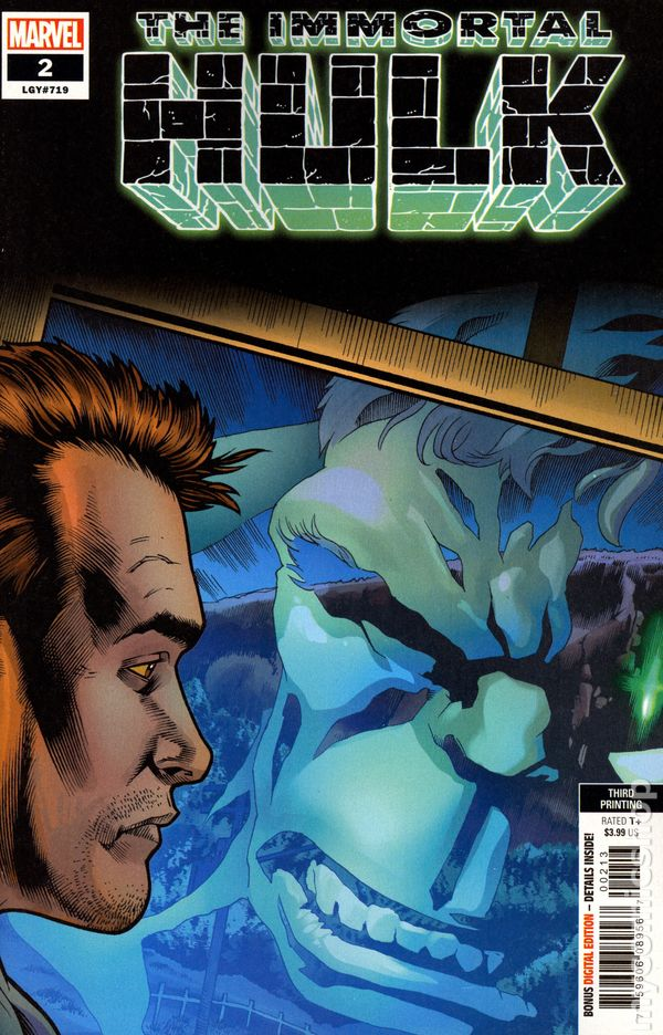 The Long Boxers - Immortal Hulk #2 Cover D 3rd print