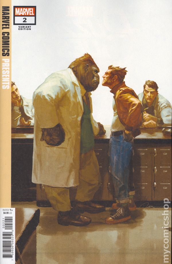 The Long Boxers - Marvel Comics Presents #2 Gerald Parel Cover