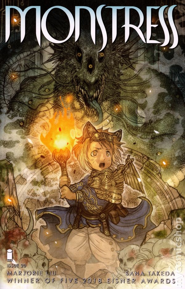 The Long Boxers - Monstress #20