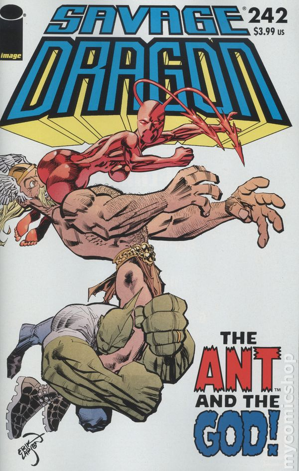 The Long Boxers - Savage Dragon Vol 2 #242