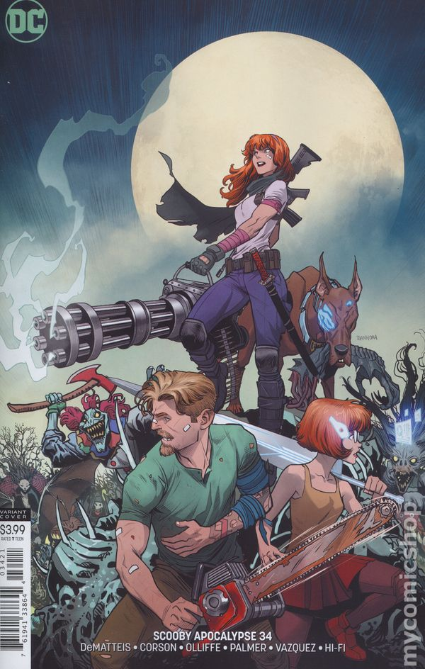 The Long Boxers - Scooby Apocalypse #34 Cover B Variant