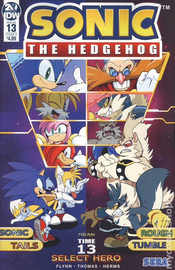The Long Boxers - Sonic The Hedgehog 13