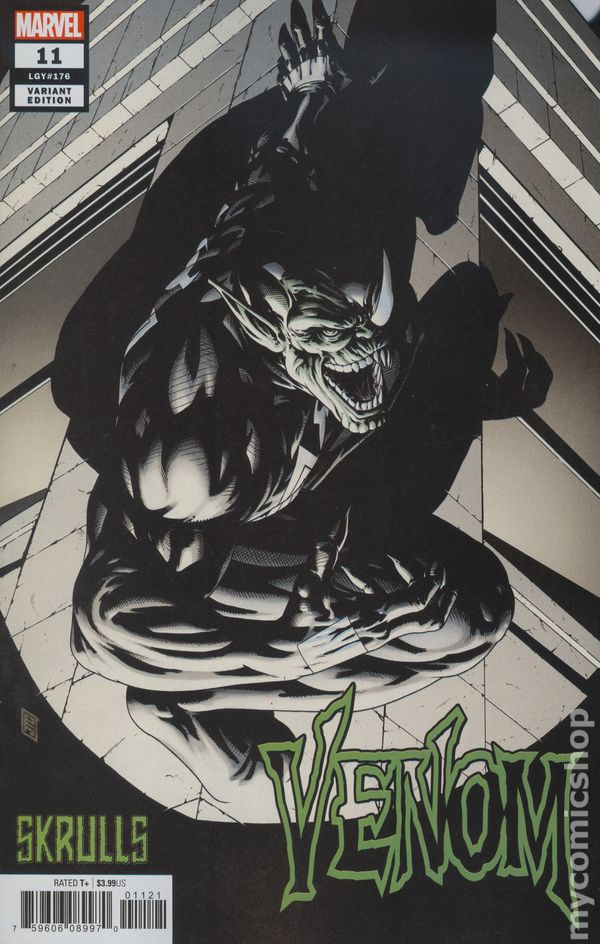 The Long Boxers - Venom Vol 4 #11—John Tyler Christopher Cover