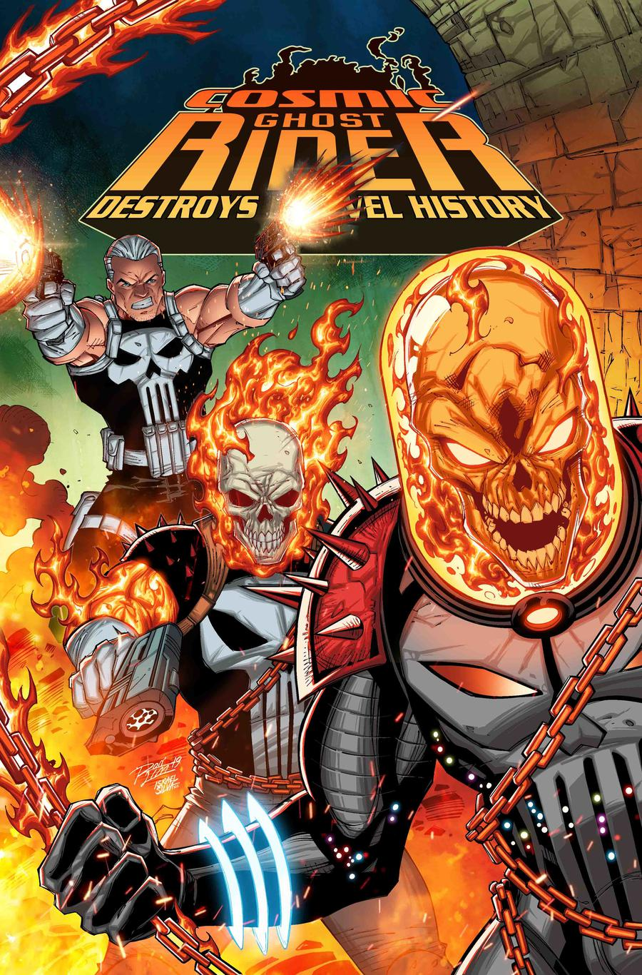The Long Boxers - Cosmic Ghost Rider Destroys Marvel History