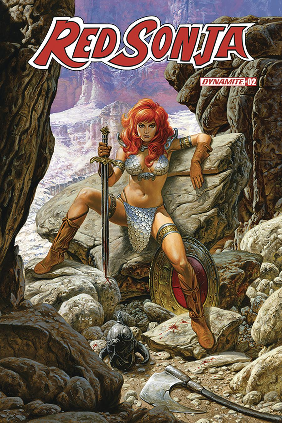 The Long Boxers - Red Sonja