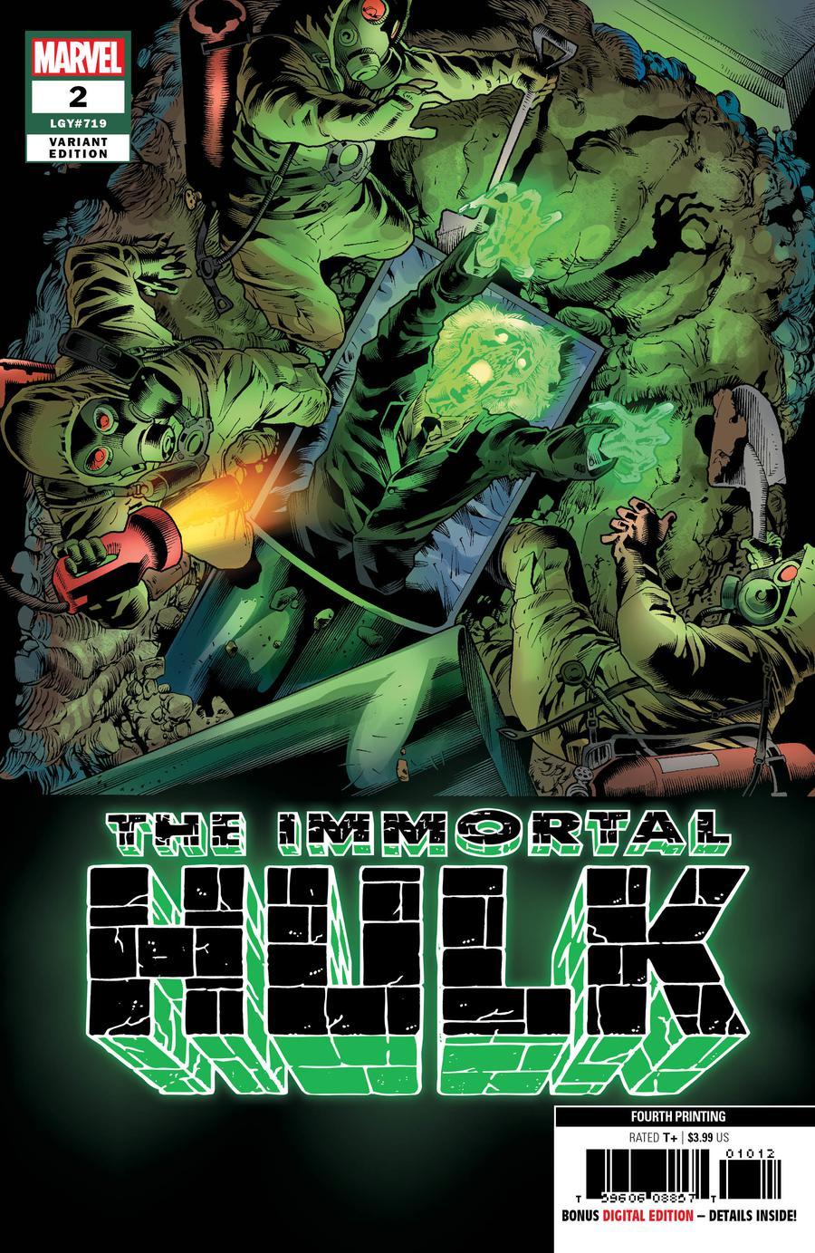 The Long Boxers - Immortal Hulk 2 4th Print