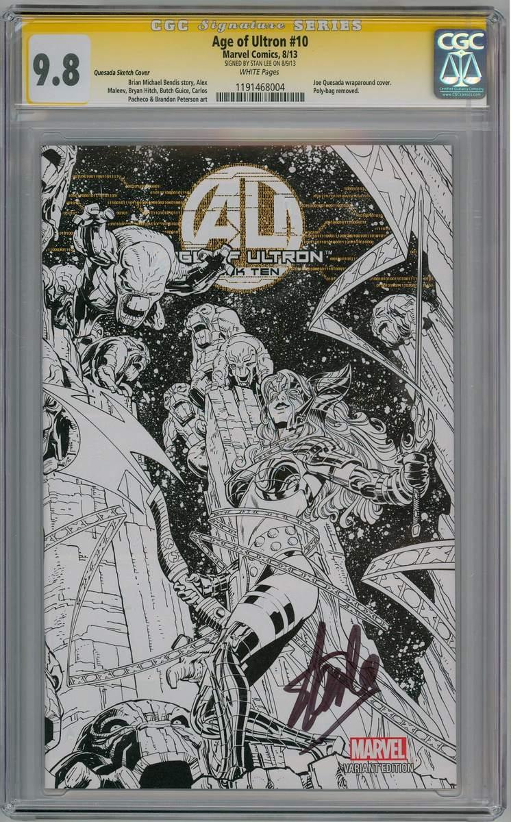TLB - Age of Ultron 10 Joe Quesada Angela Sketch Variant 1:100