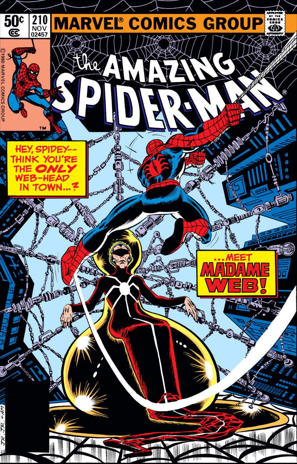 The Long Boxers - Amazing Spider-Man 210 Cover