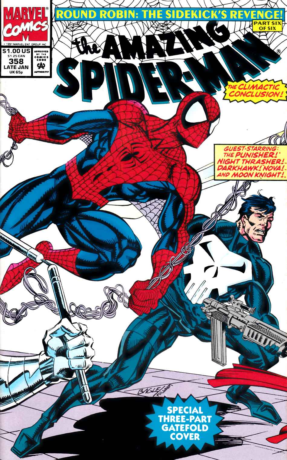 The Long Boxers - Amazing Spider-Man Cover 358