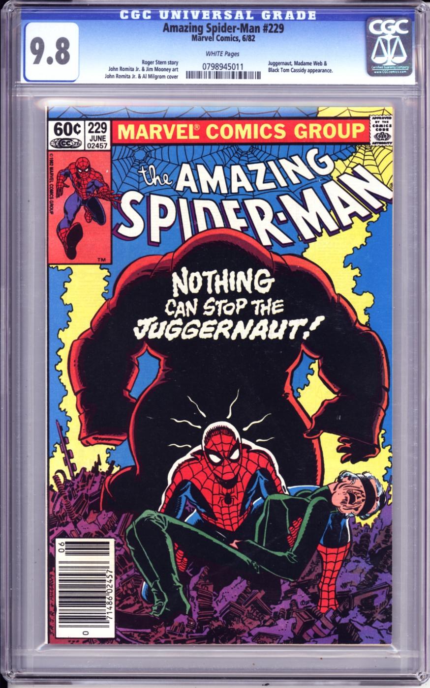 The Long Boxers - Amazing Spider-Man 229 cgc 9.8